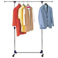 Tatkraft HAMBURG Стойка для одежды с усиленной базой и боковыми телескопическими штангами 16088