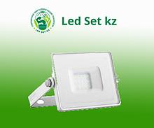 Прожектор светодиодный LL-921 2835 SMD 50W 6400K IP65 AC220V/50Hz, белый с матовым стеклом 167*198*28 мм