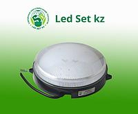 Светодиодный светильник ЖКХ с датчиком звука IP65 10Вт 900Лм, корпус белый