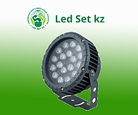 Светодиодный прожектор LL-884, D180xH230, IP65 18W 85-265V, холодный белый (Feron)