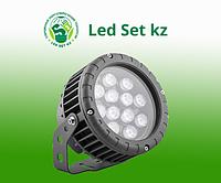 Светодиодный прожектор LL-883, D150xH200, IP65 12W 85-265V, RGB (Feron)