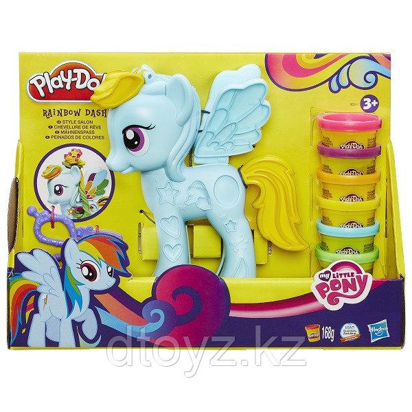 "Hasbro Play-Doh Игровой набор ""Стильный салон Рэйнбоу Дэш"""