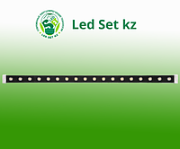 Светодиодный линейный прожектор LL-889, 18LED 2700К, 1000*46*46mm, 18W 85-265V, IP65 (Feron)