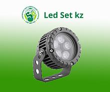 Светодиодный прожектор LL-882, D95xH130, IP65 5W 85-265V, холодный белый (Feron)