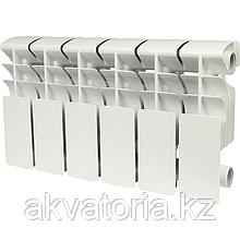 Rommer plus 200 6 секций радиатор алюмин (RAL9016)