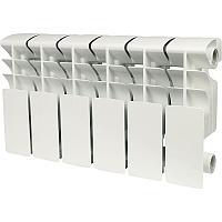 Rommer plus 200 10 секций радиатор алюмин (RAL9016)