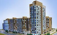 3 комнатная квартира в ЖК Manhattan 5 86.29 м², фото 1