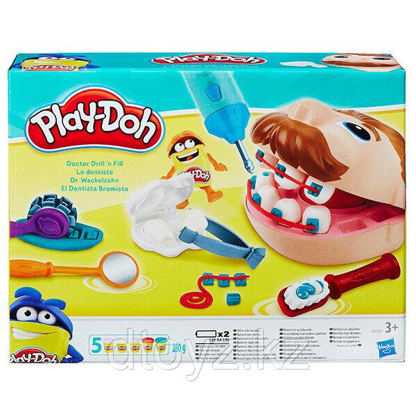 Hasbro Play-Doh Игровой набор Мистер Зубастик Новая версия