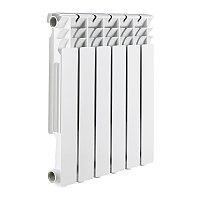 Rommer Optima 500-10 секции радиатор аллюм.(RAL9016)