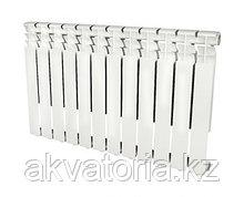 Rommer  Optima 500-12 секции радиатор аллюм.(RAL9016)