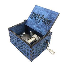 Музыкальная шкатулка Гарри Поттер синяя