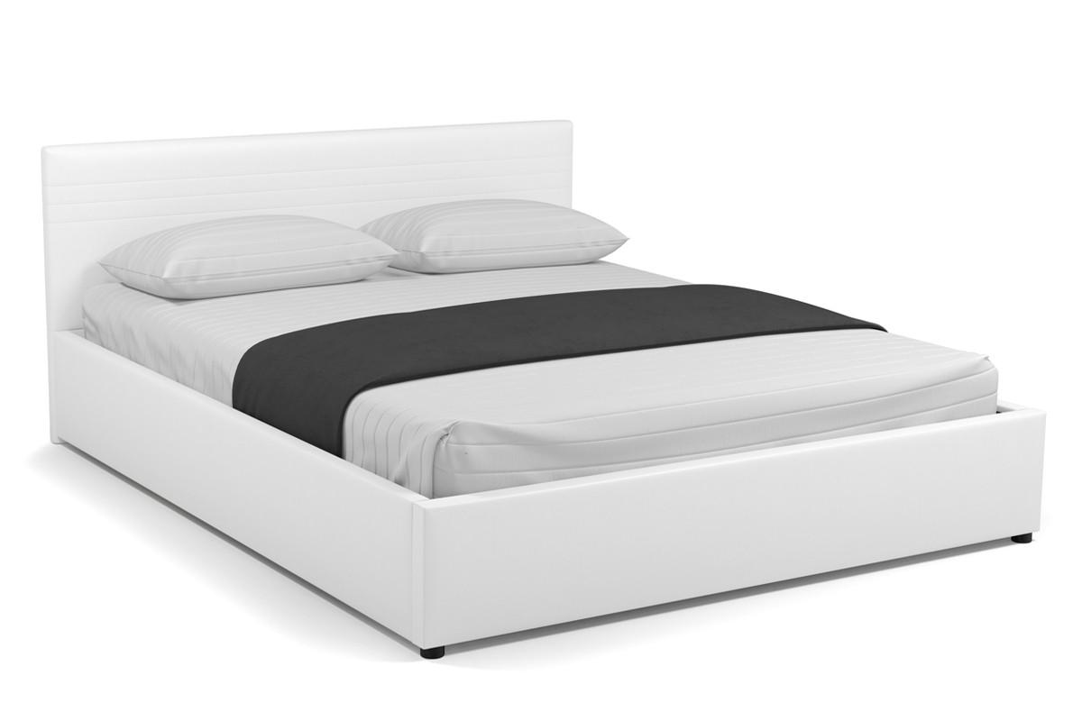 Кровать двуспальная Новиа 767, Белый, СМК (Россия)