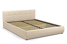 Кровать двуспальная Мила 764, Бежевый, СМК (Россия), фото 2