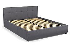 Кровать двуспальная Мила 764, Серый, СМК (Россия), фото 2