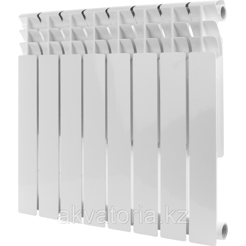 Rommer  Optima 500-8 секции радиатор аллюм.(RAL9016)