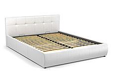 Кровать двуспальная Мила 764, Белый, СМК (Россия), фото 2