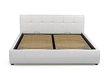 Кровать двуспальная Мила 764, Белый, СМК (Россия), фото 3