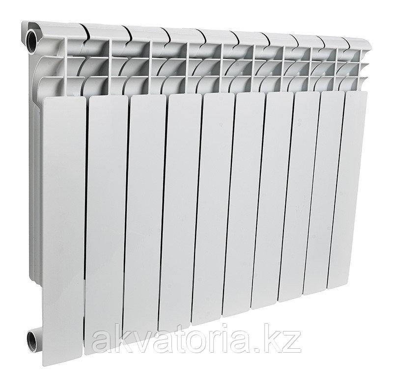 Rommer AL500-80-80-100 8 секции радиатор аллюм.(RAL9016)