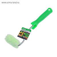 """Мини-валик """"АКОР"""", микрофибра, 60 мм, ручка d=6 мм, D=15 мм, ворс 12 мм, для дерева"""