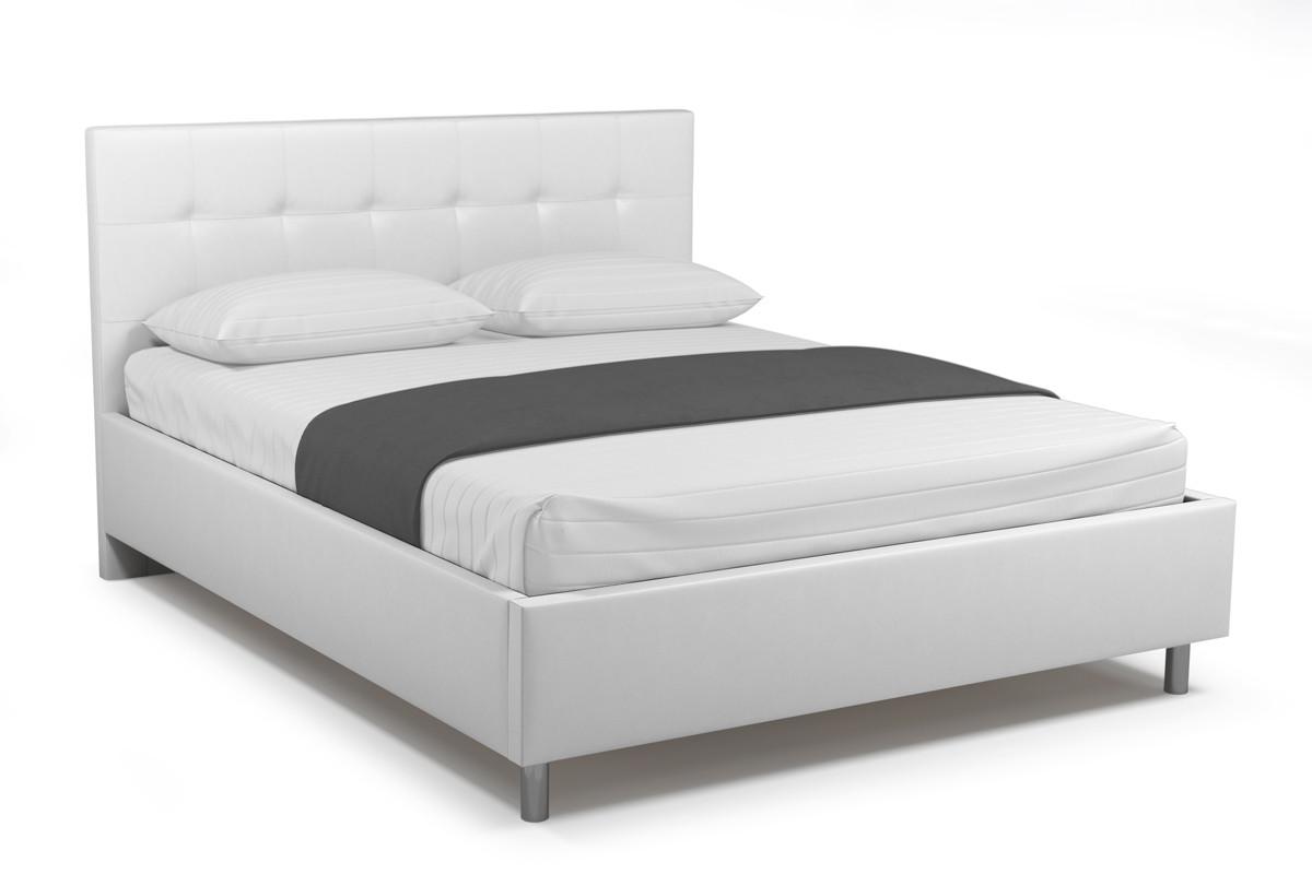 Кровать двуспальная Элси 765, Белый, СМК (Россия)