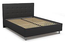 Кровать двуспальная Элси 765, Чёрный, СМК (Россия), фото 2