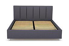 Кровать двуспальная Берта 766, Серый, СМК (Россия), фото 2