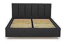 Кровать двуспальная Берта 766, Чёрный, СМК (Россия), фото 3