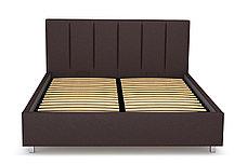 Кровать двуспальная Берта 766, Шоколад, СМК (Россия), фото 2