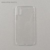 Чехол LuazON для телефона iPhone X, силиконовый, противоударный, прозрачный