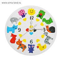 Роспись по гипсу, серия создай часы «Животные», краски 8 цветов по 2 мл