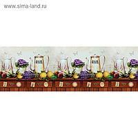 Фартук кухонный ПВХ Альпийская лаванда 3000х600х1,5 мм