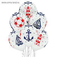"""Шар латексный 14"""" «Морская тема», пастель, набор 25 шт., виды МИКС"""