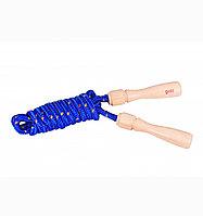 Скакалка деревянная ручка простая
