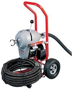 Прочистная машина для трубопроводов и канализаций Ridgid K-1500