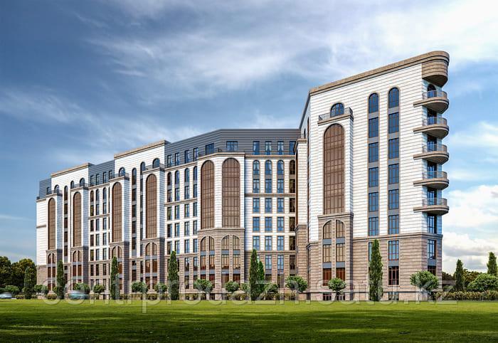 2 комнатная квартира в ЖК Paris 68.9 м²