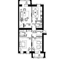 3 комнатная квартира в ЖК Paris 133.3 м², фото 1