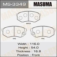 Колодки тормозные MASUMA MS3349