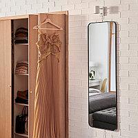 ЛИНДБЮН Зеркало, черный, 40x130 см, фото 1