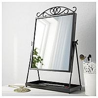 КАРМСУНД Зеркало настольное, черный, 27x43 см, фото 1