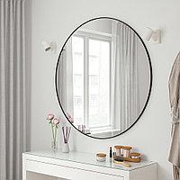 ЛИНДБЮН Зеркало, черный, 110 см