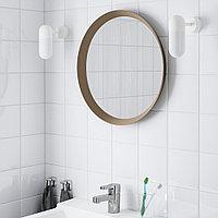 ЛАНГЕСУНД Зеркало, бежевый, 50 см, фото 1