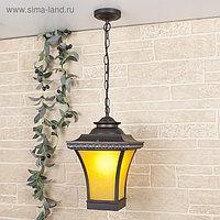 Светильник Elektrostandard садово-парковый, 60 Вт, E27, IP44, подвесной, Libra H венге