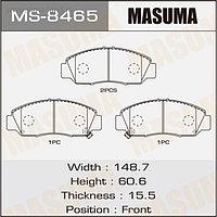 Колодки тормозные MASUMA MS8465