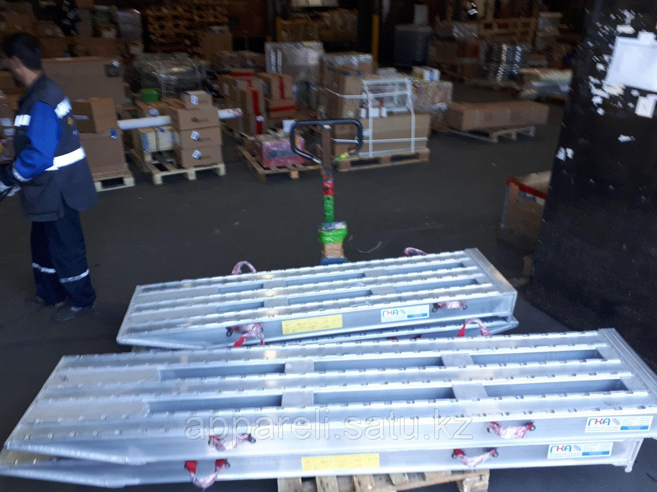 Алюминиевые аппарели от производителя 1,9 метра, 32-45 тонн