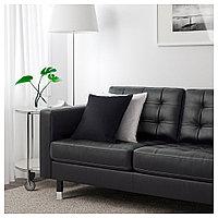 ЛАНДСКРУНА 3-местный диван-кровать, Гранн, Бумстад черный/металл, фото 1