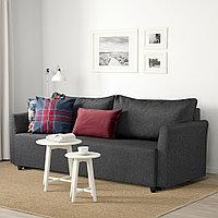 БРИССУНД 3-местный диван-кровать, Рудорна темно-серый, фото 1