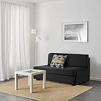 СВЭНСТА 2-местный диван-кровать, черный, фото 1