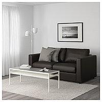 ВИМЛЕ 2-местный диван, Фарста черный, Фарста черный, фото 1