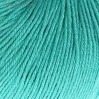 """Пряжа """"Baby Wool"""" 20% кашемир, 40% меринос. шерсть, 40% акрил 175м/50гр (832 св. бирюзов.)"""