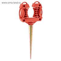 Ролик GRINDA направляющий, двухсторонний, для шланга
